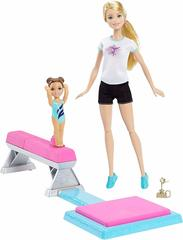 Barbie and Toddler Student Flippin Fun Gymnastics Dolls