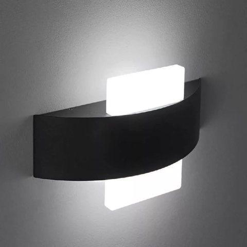 Декоративная светодиодная подсветка ЭРА WL7 WH+BK 6Вт IP20 черный