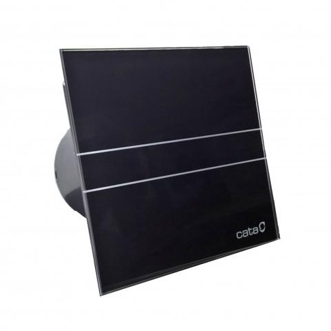 Накладной вентилятор Cata E 100 G Bk (Black) черный + обратный клапан