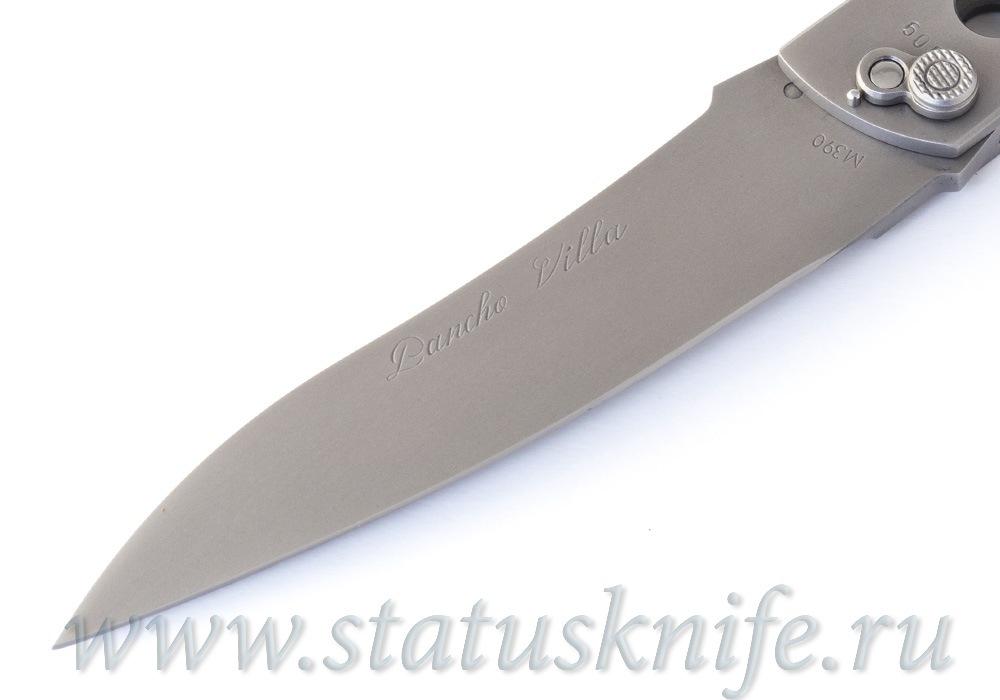 Нож Уракова А.И. Панчо Вилья M390 - фотография