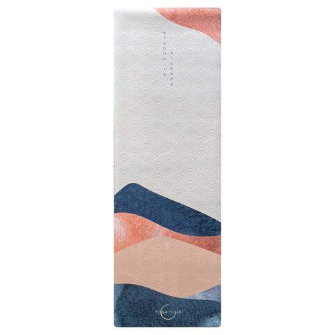 Коврик для йоги Kensho 183*61*0,3 см из микрофибры и каучука