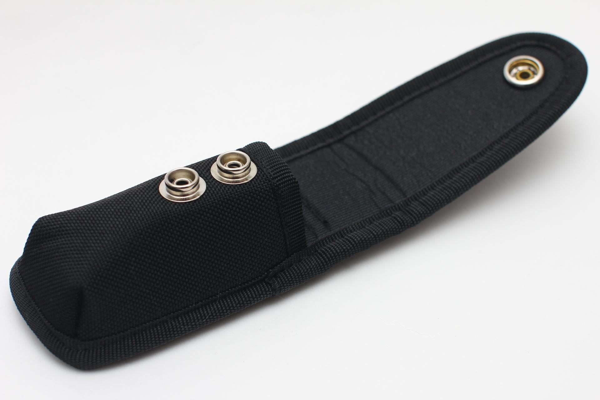 Чехол нейлоновый черный для ножа или мультитула - фотография