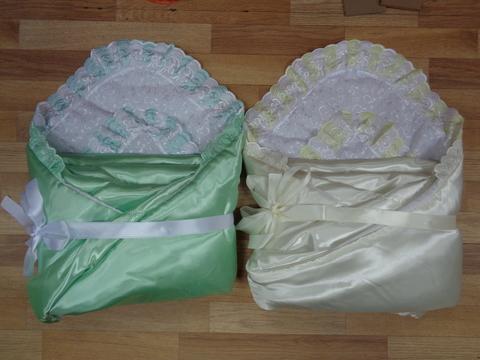 Комплект д/выписки  с одеялом № 5 (атлас) весна  РАСПРОДАЖА