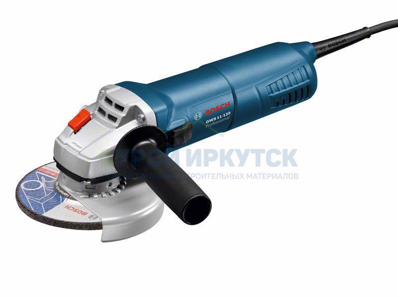 Шлифовальные машины Угловая шлифмашина Bosch GWS 11-125 (06017920R0) 58fb23394eb506053e74450da3e359ad