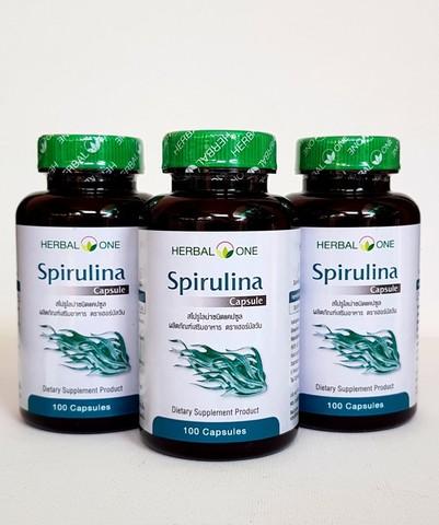 Капсулы Спирулина (Spirulina) - комплекс витаминов, минералов и аминокислот