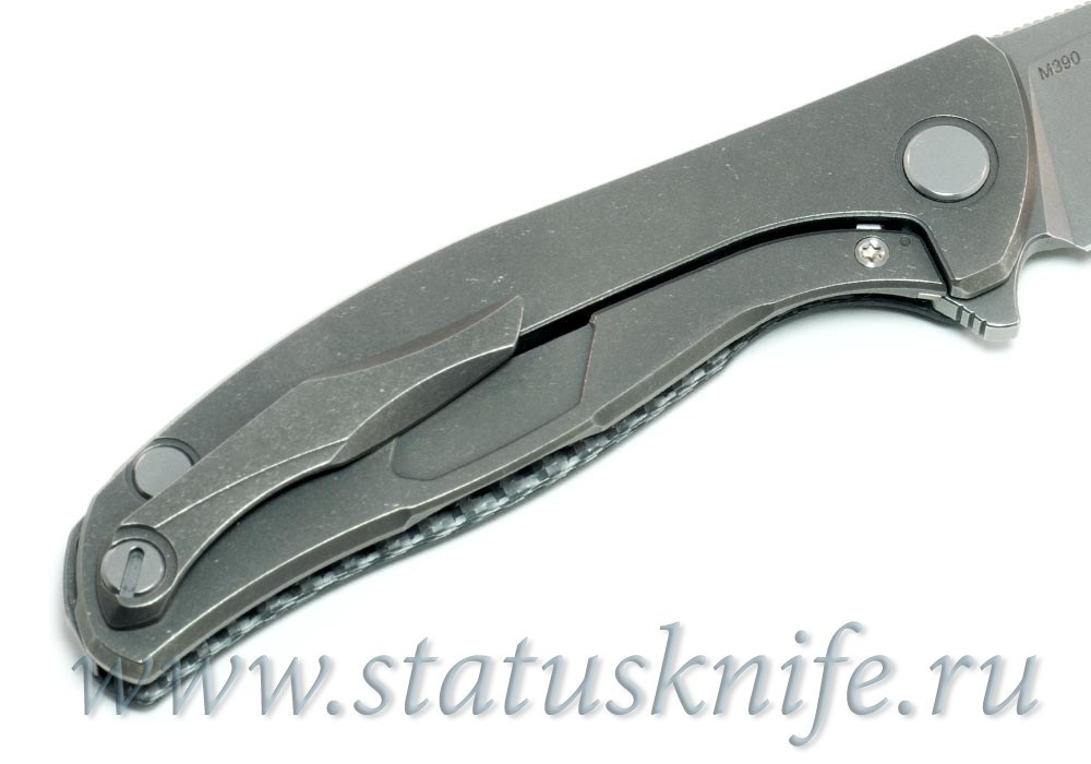 Нож Широгоров Хати SilverTwill M390 - фотография