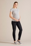 Джинсы для беременных (SKINNY) 09790 серый