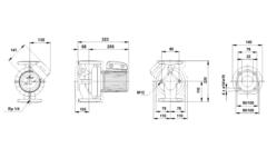 Циркуляционный насос Grundfos UPS 32-120 F  1*230 V