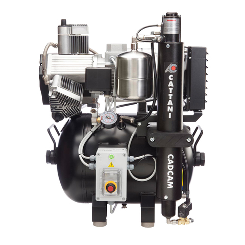 AC310 CAD/CAM компрессор (3 цилиндра) Cattani
