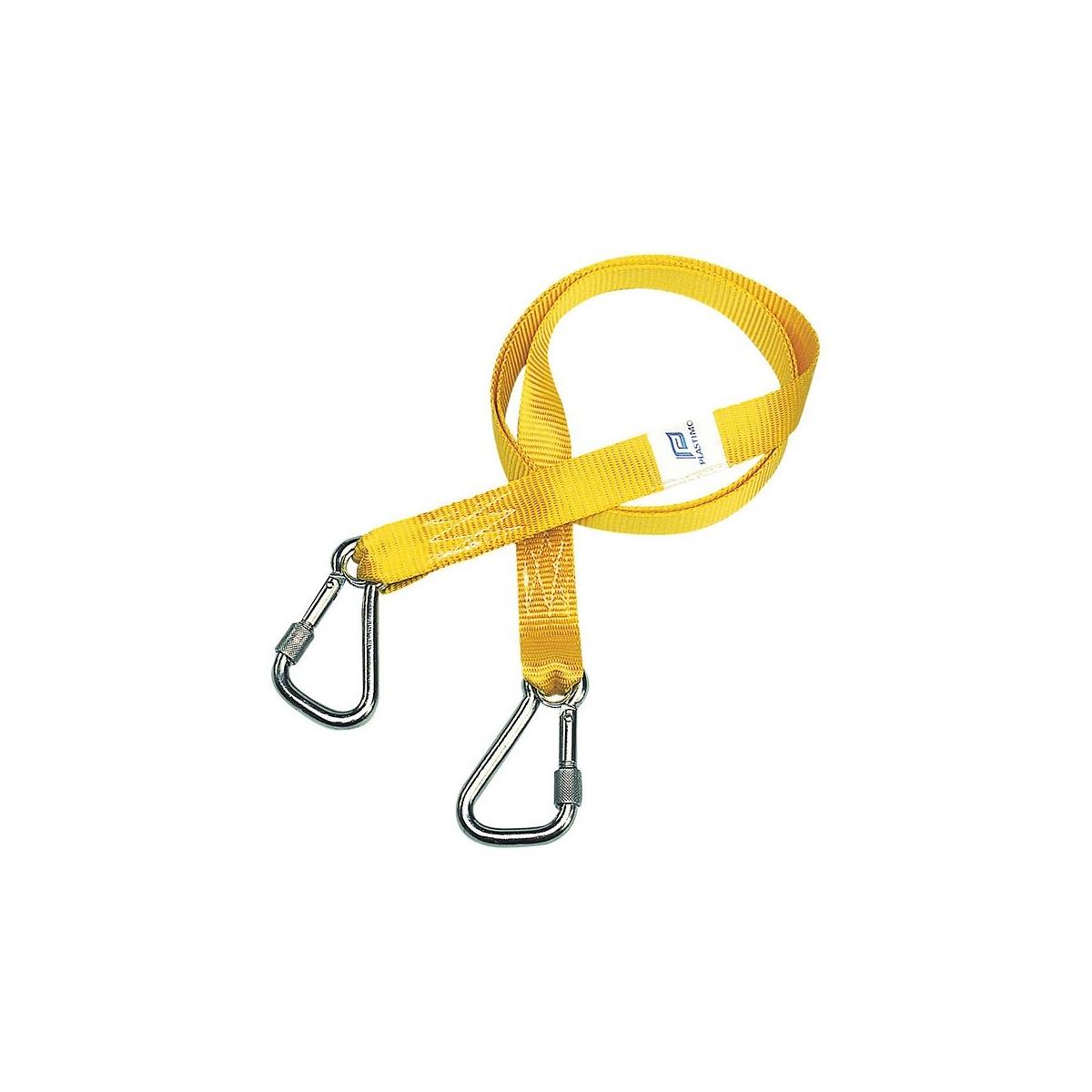 Tethers ISO, screw-type hooks