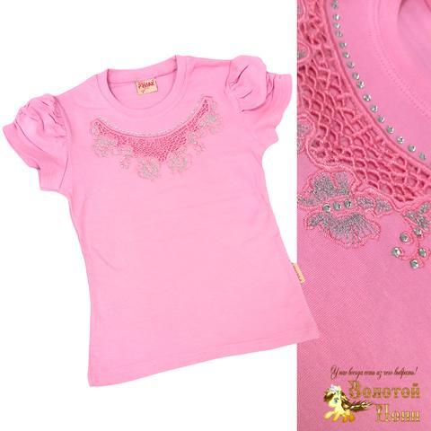 Блуза хлопок девочке (6-12) 210609-SH54083