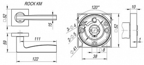 ROCK KM SN/CP-3 Схема