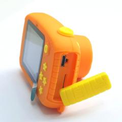 Фотоаппарат детский SmileZoom Пчёлка Желтая 20Мп вид сбоку