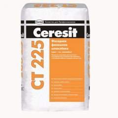 Шпаклёвка Ceresit CT225 цементная финишная белая, 25 кг
