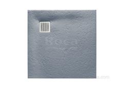 TERRAN Душевой поддон 800X800 с сифоном и решеткой цемент  Roca AP0332032001300 фото