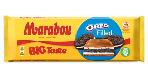 Marabou Oreo filled 320 гр