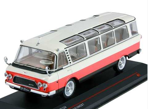 ZIL-118 Unost white-red-black 1964 IST124 IST Models 1:43