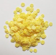 Фимо фрукты для слайма лимон