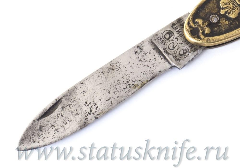 Нож Юбилейный КРЫМ В РУКАХ НАШИХ 1883 год Битюрин К. М. - фотография