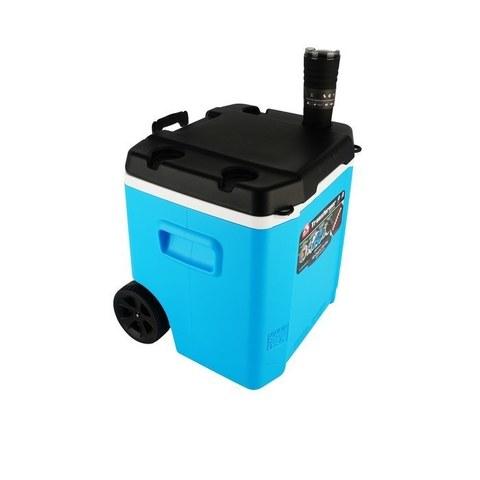 Изотермический пластиковый контейнер Igloo Transformer 60 Roller blue