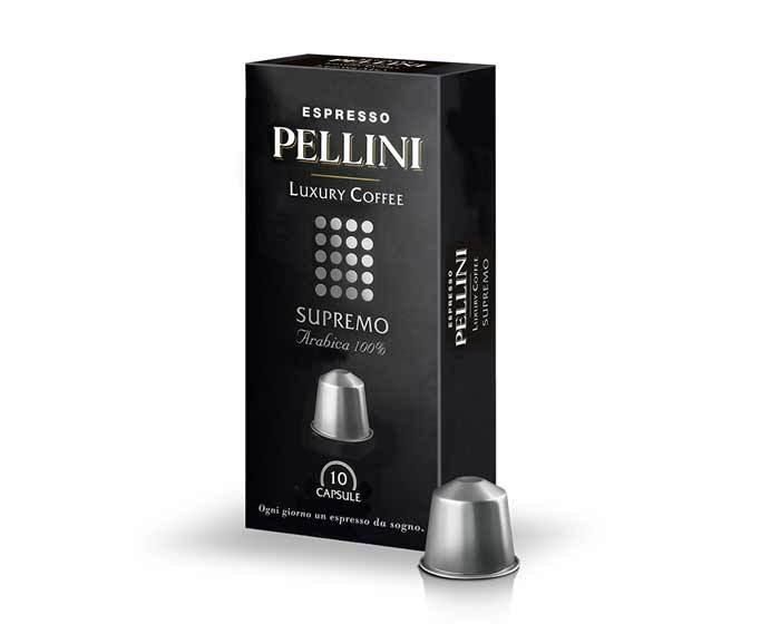 Кофе в капсулах Pellini Supremo, 10 капсул (Пеллини)