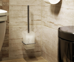 Ершик для туалета WasserKRAFT Leine K-5027WHITE