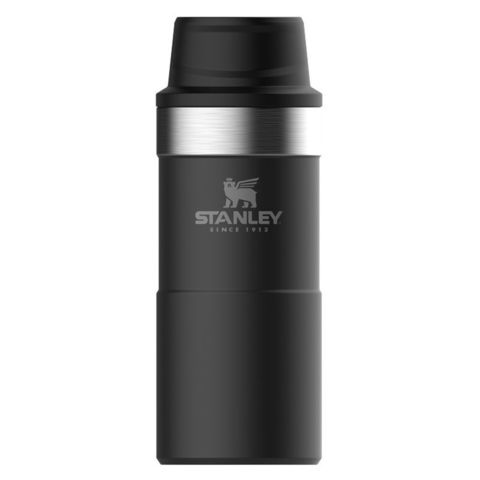 Термокружка Stanley The Trigger-Action Travel Mug (10-06440-015) 0.35л черный