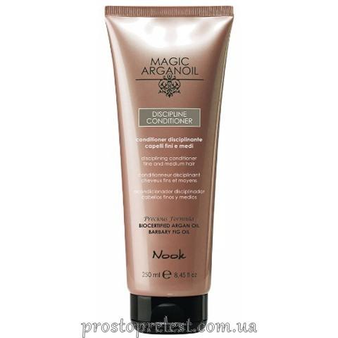 Nook Magic Arganoil Discipline Conditioner — Кондиціонер для гладкості тонкого і нормального волосся