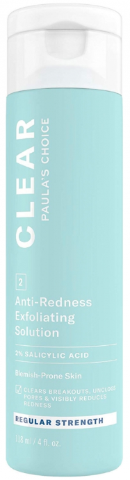 Paula's Choice CLEAR Regular Strength Anti-Redness Exfoliating Solution эксфолиант 118мл