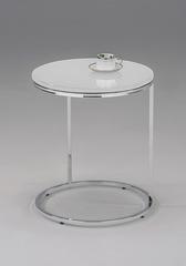 Приставной столик MK-2356 White