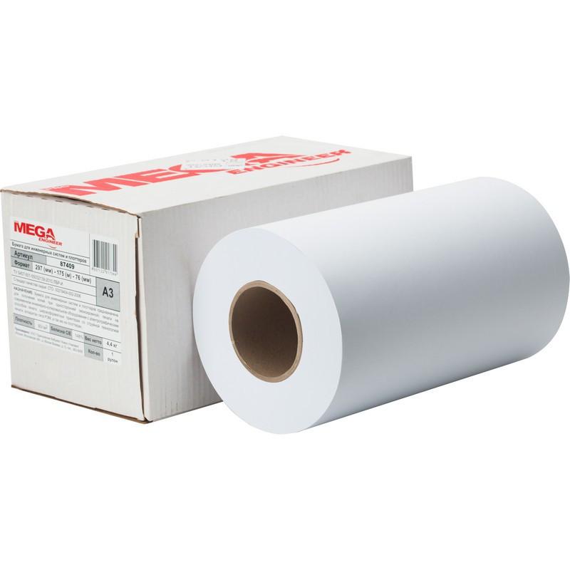 Бумага широкоформатная ProMEGA engineer 80г 297ммх175м 76мм