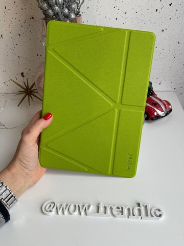 Чехол Origami Case iPad 9,7/Air 2/Air/2017' 18 leather /lime green/
