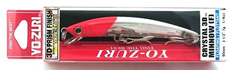 Воблер Yo-Zuri Crystal 3D Minnow 90 F / F1145-C5