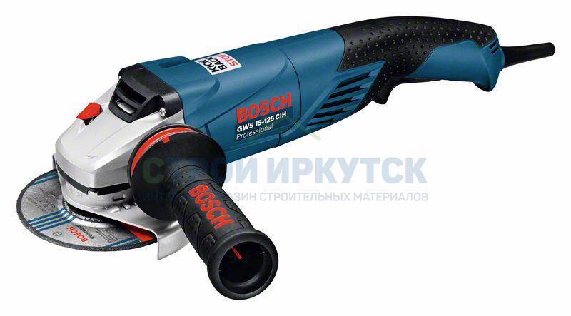 Шлифовальные машины Угловая шлифмашина Bosch GWS 15-125 CIH (0601830222) 11348f0ddd994defaa3319133f151e71