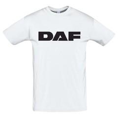 Футболка с принтом ДАФ (DAF) белая