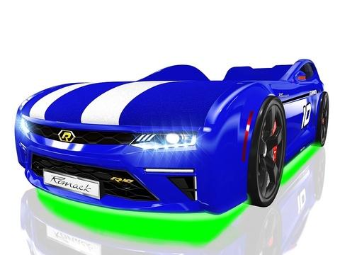 Кровать-машина Romack Energy-M Синяя