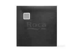 TERRAN Душевой поддон 800X800 с сифоном и решеткой черный  Roca AP0332032001400 фото