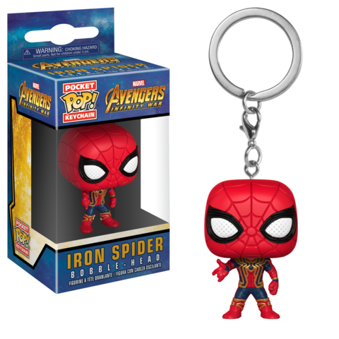 Брелок Funko Pocket POP! Keychain: Marvel: Avengers Infinity War: Iron Spider 27302-PDQ
