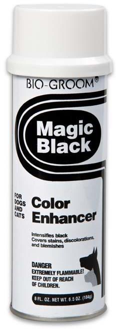 Груминг, уход за шерстью Черный выставочный спрей-мелок для собак и кошек, Bio-Groom Magic Black, 236 мл 51908.jpg