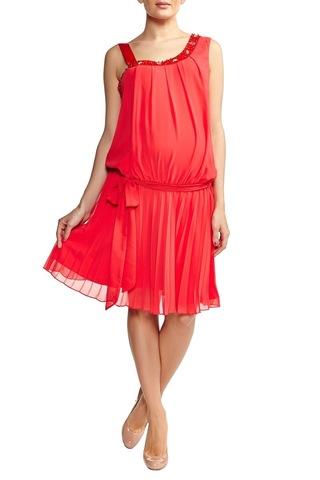 Платье для беременных 03721 красный