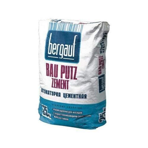 Штукатурки Цементная штукатурка Bergauf Bau Putz Zement, 25 кг 3ab8d2ce6894486c84729e3ec42dd31a.jpg