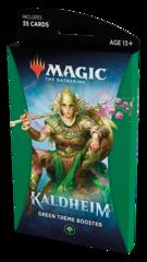 Тематический зелёный бустер выпуска «Kaldheim» (английский)