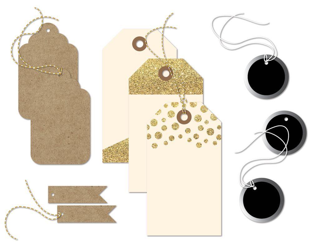 Набор декоративных тегов  JUNIPER BERRY от Basicgrey