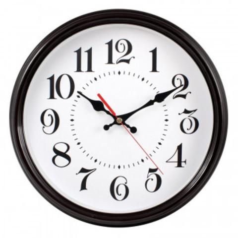 Часы настенные Troyka модель88, диаметр 310мм,  пластик 88880882
