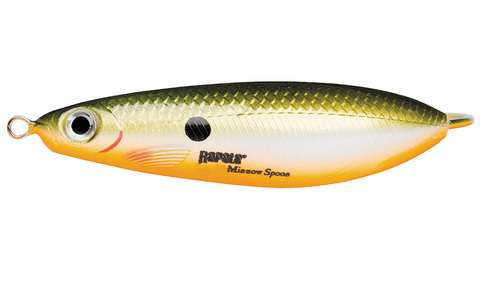 Незацепляйка RAPALA Minnow Spoon 8 см, цвет RFSH