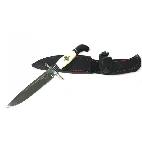 Нож Финка НКВД со знаком ВДВ, рукоять пластик, граб, латунь, A472