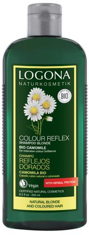 LOGONA COLOR REFLEX Шампунь для светлых волос с Ромашкой