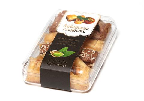 """Пахлава - Ассорти ливанских сладостей """"Кармель"""", 180 г"""