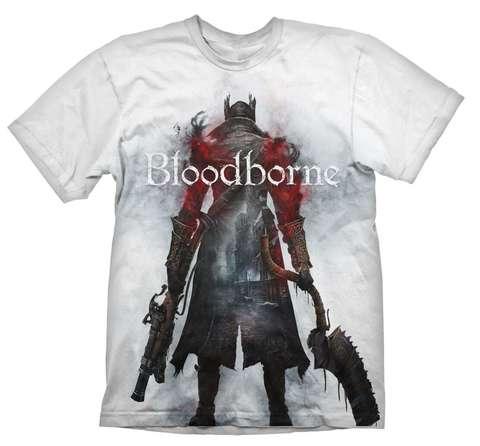 Футболка Bloodborne Hunter Street White