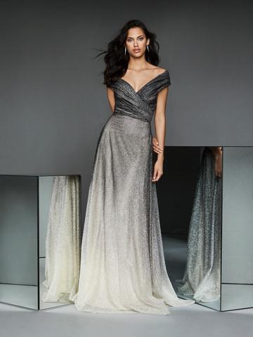 Вечернее платье классическое длиной в пол